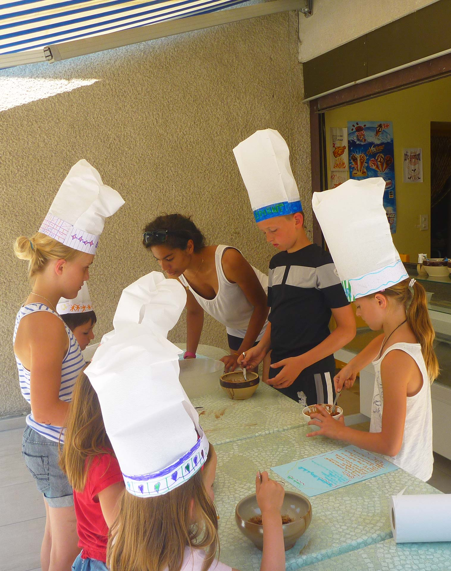 Animation culinaire au camping Beau Rivage