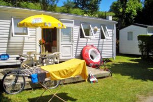 Location mobil-home Lac de pareloup Beau Rivage