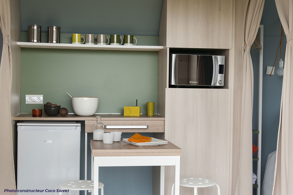 Cuisine coco-sweet camping-Beau-Rivage